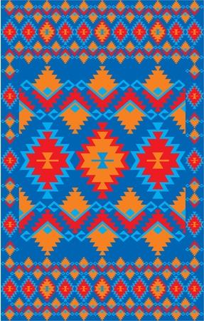 vector mexican ethnic background Stock Vector - 10798922