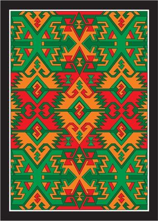 mexican art: vettore ornamenti etnici