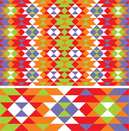 mexican ethnic pattern Illustration