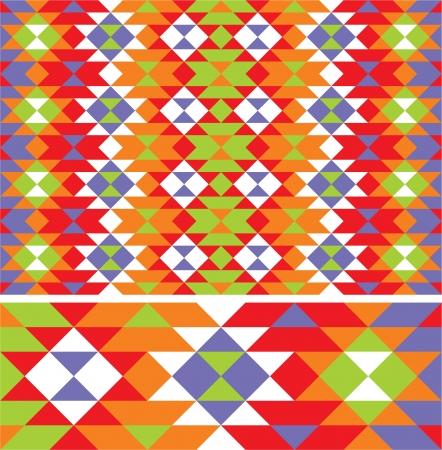friso: patrón étnico mexicano