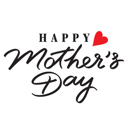 mothers: happy mothers day hand lettering handmade calligraphy