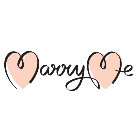 marry me: marry me wedding hand lettering handmade calligraphy