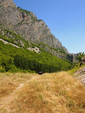 A mountain massive near town of Vratsa, Bulgaria