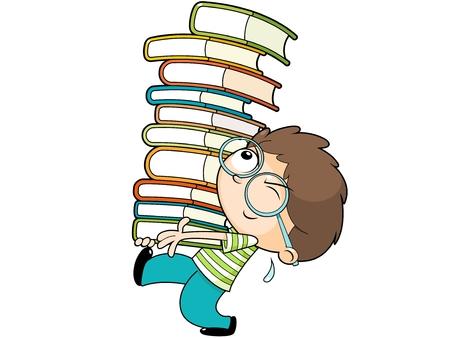 reading glass: Un ni�o peque�o celebraci�n de libros