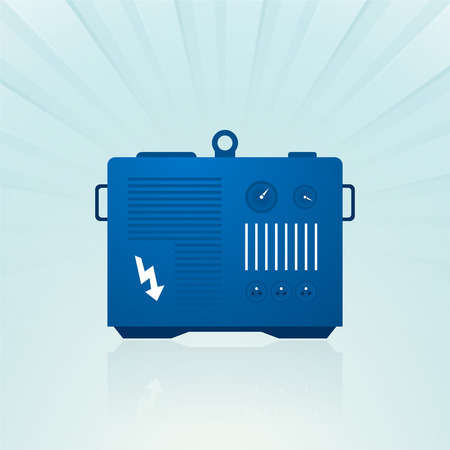 Blau Generator Standard-Bild - 32374580