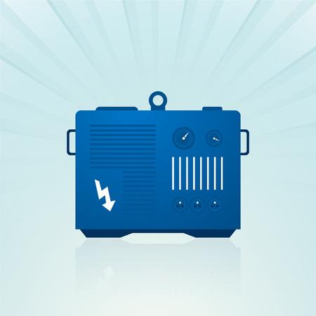 blue generator Banco de Imagens - 32374580