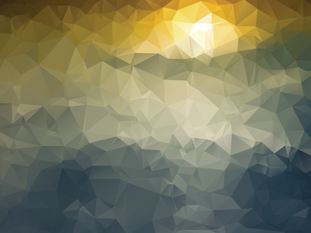 Abstract background with the motif of the sunset Vector