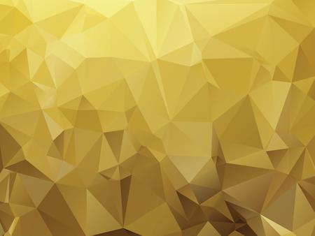 ocher: ocher abstract background composition of triangles Illustration