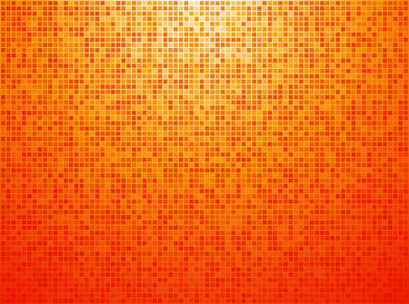 checkered background: Colorful orange checkered background