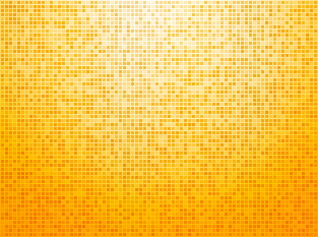 Colorful yellow checkered background Stock Illustratie