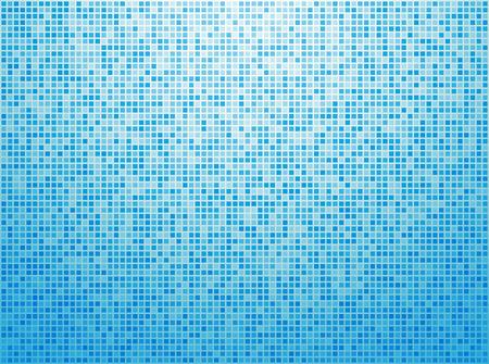 Colorful blau karierten Hintergrund Standard-Bild - 36176650