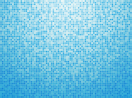 Colorful blue checkered background Vector