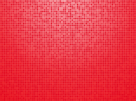 red checkered background with light vignette Vector