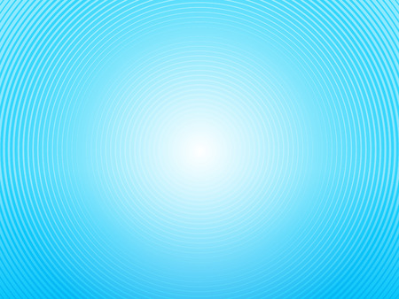 abstract light blue background made of semi circles Illustration