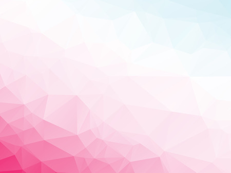 abstract triangular pink violet white blue background Vector