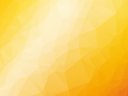 abstract triangular yellow orange summer background