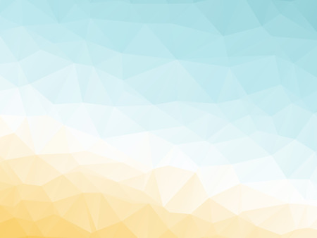 abstract triangular yellow white orange summer background