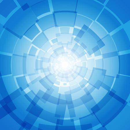 Moderne Business-blauen Hintergrund mit Rechtecke Standard-Bild - 37379882