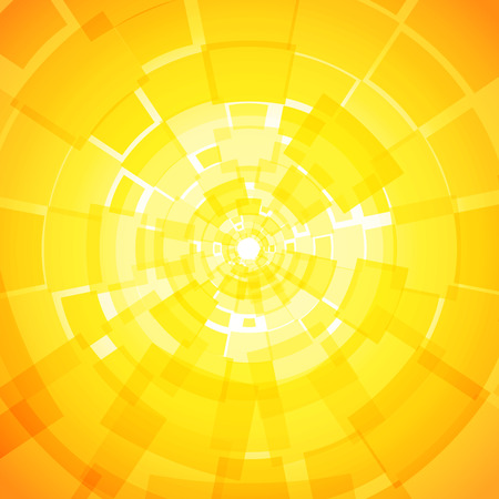 Modern abstract light yellow orange background with rectangles Vector