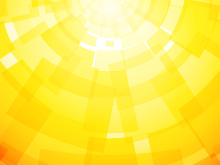 rays light: Modern bright yellow background with a motif papers