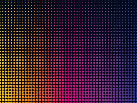 Modernen abstrakten Hintergrund mit bunten Tupfen Standard-Bild - 38622535