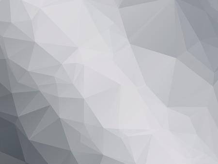 Nowoczesny czarny biały szary trójkątny tło Ilustracje wektorowe