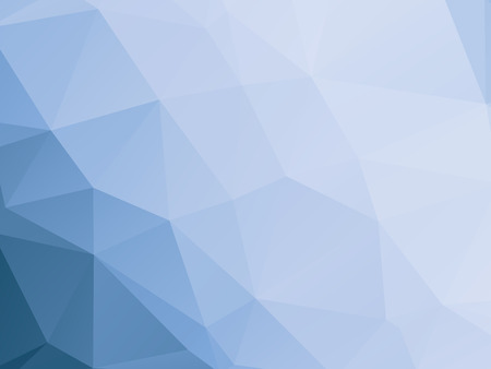 modern blue and white triangular background Vectores
