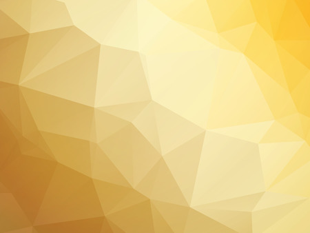 modern yellow brown white triangular background