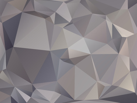 abstract triangular graphite gray brown background Vector