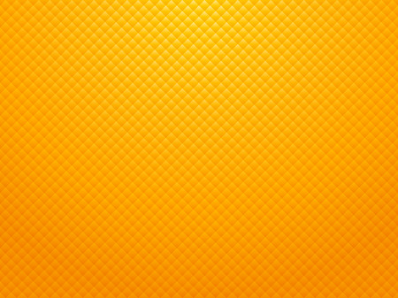 modern square yellow background with vignette Ilustracja