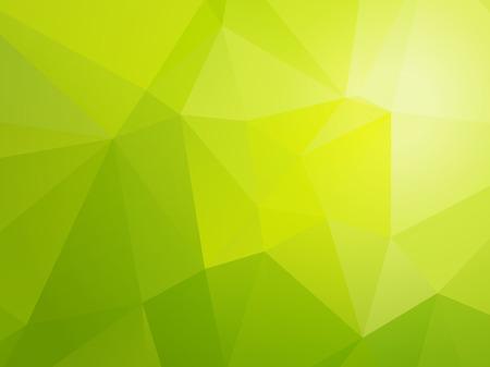 simple light bio green triangular background Stock Illustratie