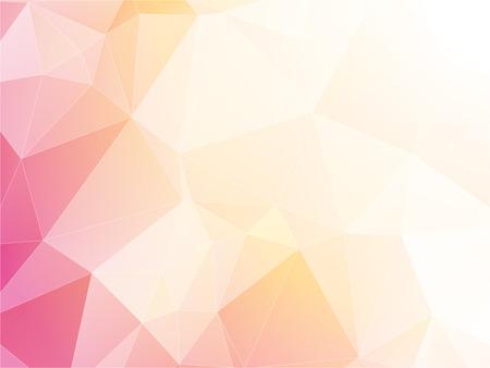 modern light pastel triangular background