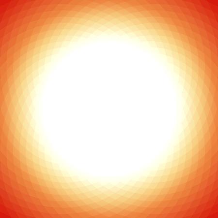 Moderne gelb orange geometrischen Hintergrund mit weißen Mitte Standard-Bild - 40224861