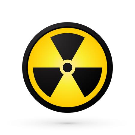 Einfache Radioaktivität Symbol Standard-Bild - 41239011