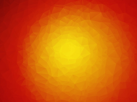 red sun: red sun yellow orange background