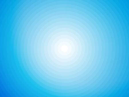 Einfache blaue und weiße symmetrischen kreisförmigen Hintergrund Standard-Bild - 41700749