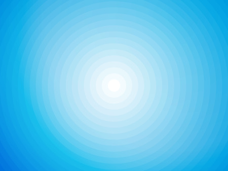 simple blue and white symmetrical circular background