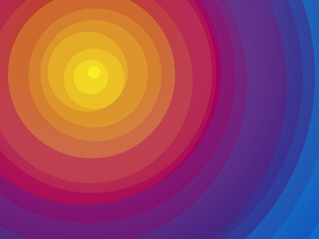 yellow red: Wonderful color circular background yellow red blue
