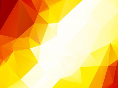 copper: Orange metallic copper triangular background Illustration