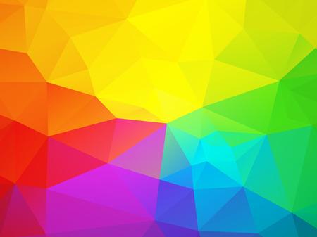 triangular: colorful rainbow triangular background
