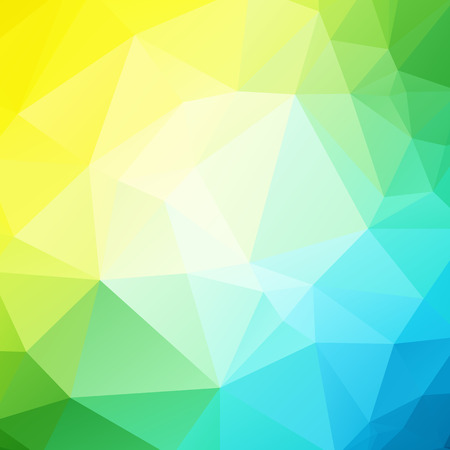 blue yellow green background