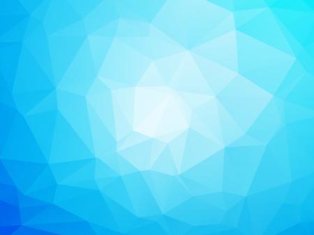poligonos: Fondo azul y blanco moderno Vectores