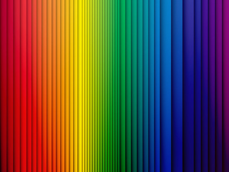 rainbow colors: color rainbow stripes background with shadow