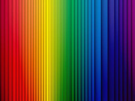 Farbe Regenbogen-Streifen Hintergrund mit Schatten Standard-Bild - 44224620