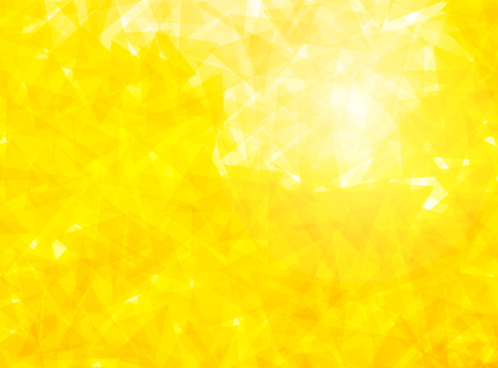 Gele driehoekige achtergrond Stockfoto - 45983300