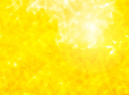 triangular: yellow triangular background