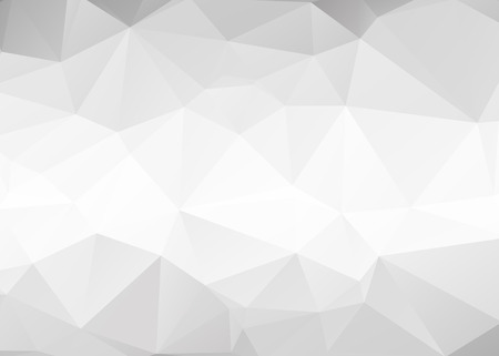 grey: Vector abstract gray triangles background