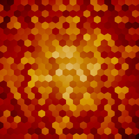 snakeskin: brown hexagon background snakeskin