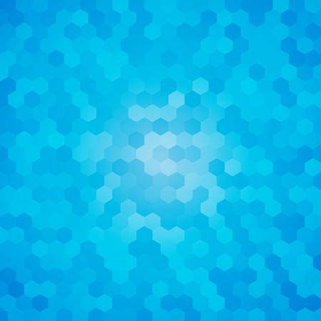 modern blue hexagon background