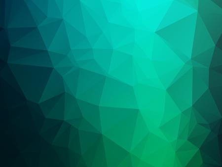 blue green background: dark blue green triangles background Illustration